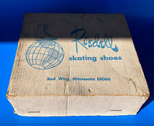 New listing VINTAGE RIEDELL 265 ROLLER SPEED SKATES, PANTHER PLATES, HUGGERS, MENS 7.5  RARE