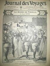 JOURNAL DES VOYAGES N° 379 SOUDAN EXECUTION MADHDI DE L'OGADEN 1904