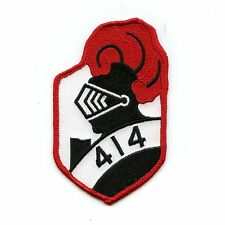 RCAF CAF Canadian 414 Knight Colour Squadron Crest Patch