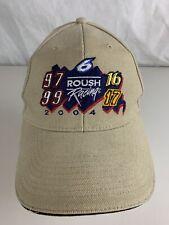 Roush Racing 2004 Baseball Hat Cap 6 Adjustable