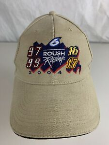 Roush Racing 2004 Baseball Hat Cap 6 Adjustable
