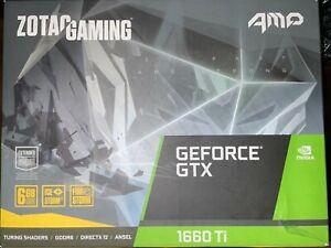 ZOTAC Gaming GeForce GTX 1660 Ti 6G GDDR6 Graphics Card (ZT-T16610F-10L)