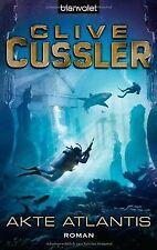 Akte Atlantis: Roman von Cussler, Clive   Buch   Zustand gut