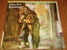 JETHRO TULL AQUALUNG ORIGINAL MASTER RECORDING LP COMPLETE WITH INSERTS