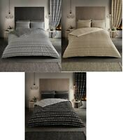 Luxury Seb Stripe Duvet Set 3 PCs Duvet Cover Set Quilt Cover Set Bedding Set