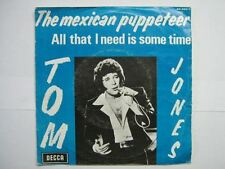 TOM JONES 45 TOURS BELGIQUE THE MEXICAN PUPPETEER
