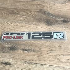 HONDA 1983 CR125 OEM STYLE SWINGARM MX MOTOCROSS GRAPHICS DECALS STICKERS