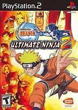 Naruto Ultimate Ninja 2 PLAYSTATION 2 (PS2) Action / Adventure (Video Game)