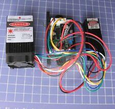 2in1 Laser Module 650nm 150mW Red + 532nm 50mw Green 12VDC w TTL Lighting Effect