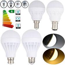 E27 B22 E14 B15 3/5/7/9/12/15/20W LED Energy Saving Light Globe Lamp Bulb AC220V