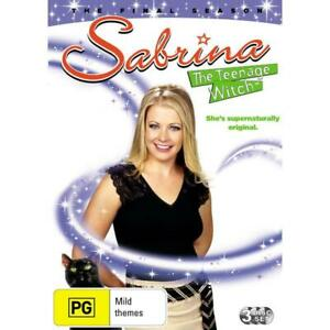 Sabrina, The Teenage Witch Complete Seventh Season Series 7 TV Show DVD Set NEW