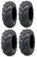 Four Maxxis Zilla ATV Tires Set 2 Front 26x9-12 & 2 Rear 26x11-12 6 ply set of 4