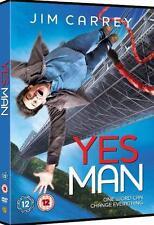 YES MAN (Danny Wallace) Jim Carrey*Zooey Deschanel Comedy Drama DVD *EXC*