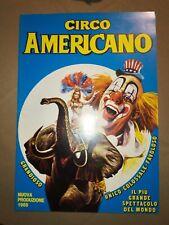 Programme CIRCO AMERICANO 1985 - circo, cirkus, cirque