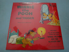 Walt Disney Presents Songs About Winnie the Pooh and Tigger LP Sealed 1317 70's