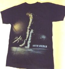 Justin Bieber T Shirt SIZE UNKNOWN NO TAG Bieber Time Merchandising Concert Band