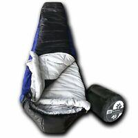 Wolftraders +0 Degree Premium Lightweight Synthetic Down Mummy Sleeping Bag