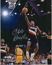 Autographed Clyde Drexler Blazers 8x10 Photo Fanatics Authentic COA