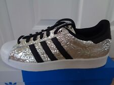 Adidas Superstar Sneaker Uomo Scarpe da ginnastica AQ2951 UK 9 EU 43 1/3 US 9.5 Nuovo + Scatola
