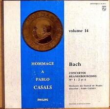"RARE PHILIPS ""Hommage a PABLO CASALS Vol 14"" JS Bach Brandenburg 01.309 NM-"