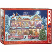Eurographics Puzzle 1000 Piece Jigsaw - Getting Ready for Christmas  EG60000973