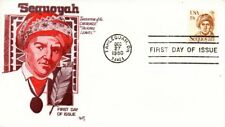 US FDC #1859 Sequoyah, Marg (3933)