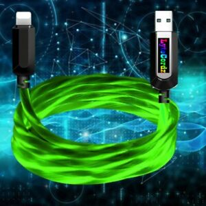 Light Up LED Premium Quality Phone Charger Cord Cable iPhone Micro Type C