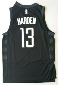 SALE - NEW rare James Harden Men's Large Jersey Black Houston # 13 NWT