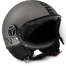 CASCO MOMO DESIGN FIGHTER EVO TITANIUM FROST - BLACK TAGLIA M
