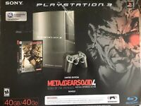 Metal Gear Solid 4 Limited Edition Playstation 3 Console