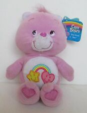 "CARE BEARS BEST FRIEND BEAR 9"" PLUSH DOLL, Bean Bag, Jakks Pacific"