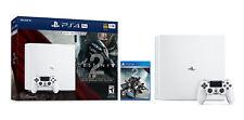 NEW Sony PlayStation 4 Pro Limited Edition Destiny 2 Bundle 1TB Glacier White...
