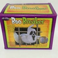 BOO BREAKER 2 part Ghost Halloween Decoration Prop Mounts on both sides of glass