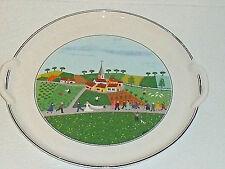 Villeroy Boch Cake Plate Tray Platter DESIGN NAIF Handled Wedding SOME WEAR