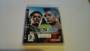 Pro Evolution Soccer 2008 - VERSION ##4 USED