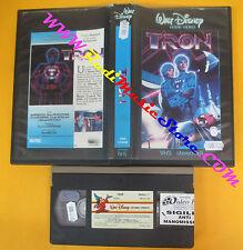VHS film TRON 1982 WALT DISNEY VI4042 Steven Lisberger 94 minuti (F136) no dvd