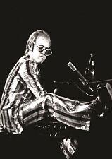 0598 Vintage Music Poster Art  Elton John At The Colosseum