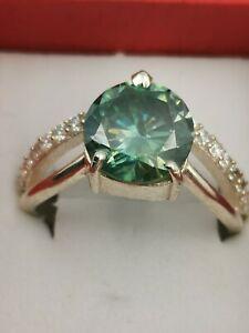 Ring  blue Diamond mit Zertifikat