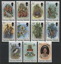 Cayman Islands QEII 1980 complete set unmounted mint NH