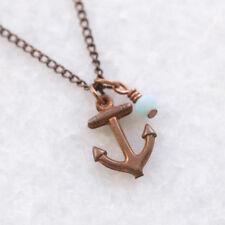 Copper Glass Costume Necklaces & Pendants