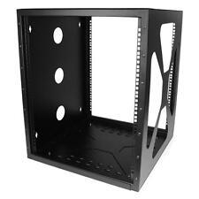 "StarTech.com -12U 19"" Wall-Mount Side-Mount Open Frame Rack Cabinet- RK1219SIDEM"
