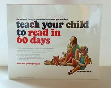 Teach Your Child to Read in 60 Days - Sidney Ledson - 1975 - New