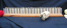 900mm (3') Beech Peg loom, 3 gauge, 3 row,  crafted Yorkshire hardwood