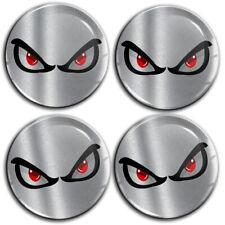 SkinoEu/® 4 x 60mm Coprimozzi Coprimozzo Universale Copricerchi Tappi Per Ruote Tappi Di Cerchioni Tappi Di copertura Senza Logo No Fear Eyes C 40