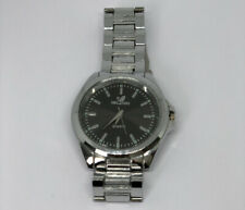 ORLANDO QUARTZ MENS SILVER WATCH ( FOR PARTS NOT WORKING )