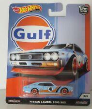 Hot Wheels 1:64 Gulf - Nissan Laurel 2000 SGX Brand new