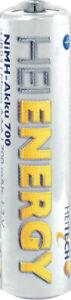 Heitech Power Akku Ni-MH AAA Micro 700 mAh 1,2V R3 Accu aufladbare Batterie