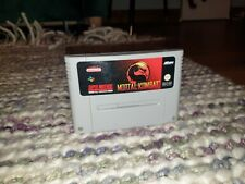 Mortal Kombat Super Nintendo SNES Cartridge PAL