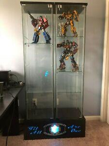 Custom Double Wide Detolf Display Base for Marvel DC Transformers NFL *Base Only