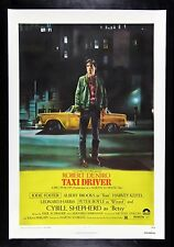 TAXI DRIVER ✯ CineMasterpieces ORIGINAL MOVIE POSTER DENIRO SCORSESE 1976